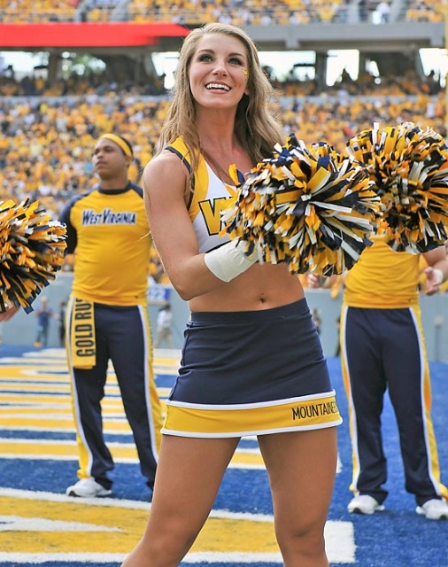 Image result for college cheerleaders