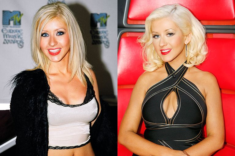 artists-who-dont-age-christina-aguilera-1999-vs-2013