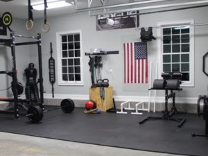 How To create the perfect garage / home gym