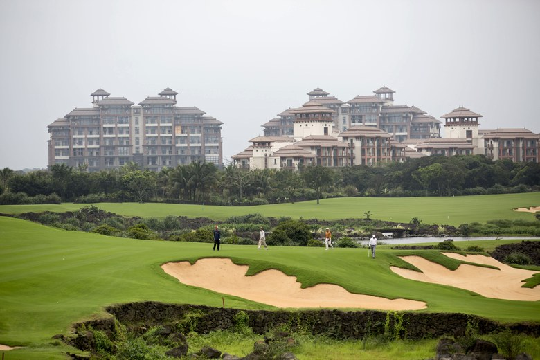 China-golf-course