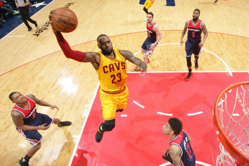 lebron vs wizards