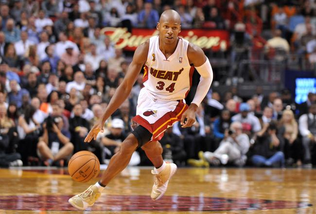 Ray-Allen-Playing-For-Miami-Heat