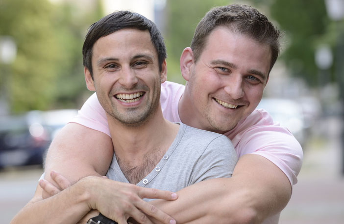 Same-sex-gay-couple