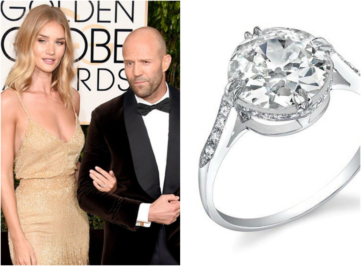 40 Jaw Dropping Celebrity Engagement Rings Page 8 Of 39 Sportingz