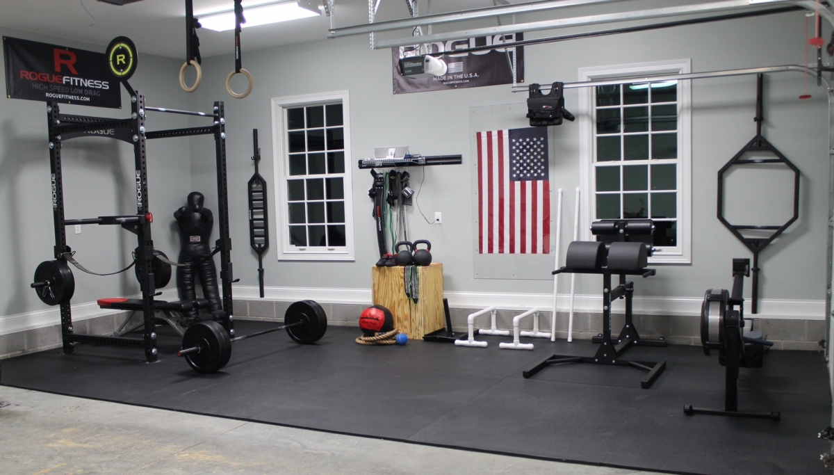How To create the perfect garage / home gym - Sportingz